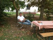 Il parco dell'agriturismo Al Giuggiolo