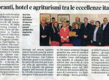 La Nuova Ferrara - Ristoranti, hotel e agriturismi tra le eccellenze italiane.