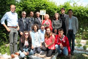 Percorso Didattico IIS Vergani-Navarra in collaborazione con Al Giuggiolo - foto di gruppo