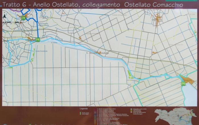 Da Libolla a Comacchio in bicicletta