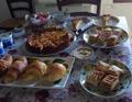 Colazione a buffet con prodotti fatti in casa